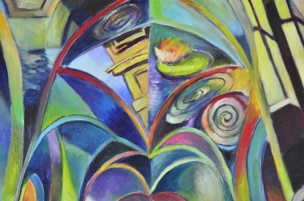 Acrylic & Oil Canvas by Marco Riccioppo - 8