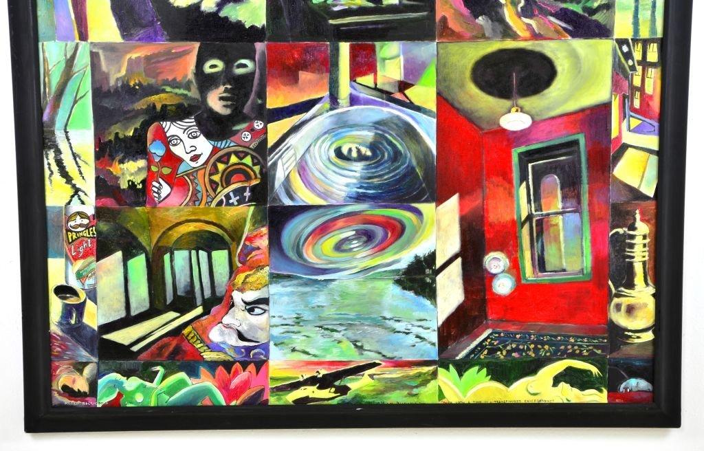 Acrylic & Oil Canvas by Marco Riccioppo - 2