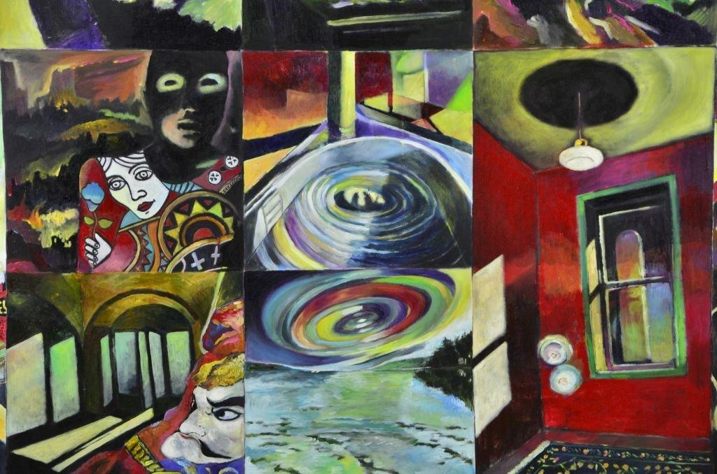 Acrylic & Oil Canvas by Marco Riccioppo - 3