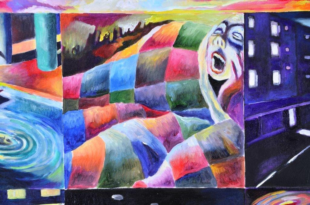 Acrylic & Oil Canvas by Marco Riccioppo - 7