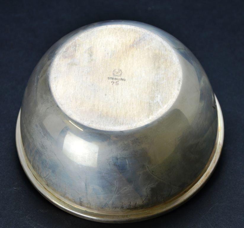 Set of 12 Vintage Sterling Silver Desert / Finger Bowls - 3