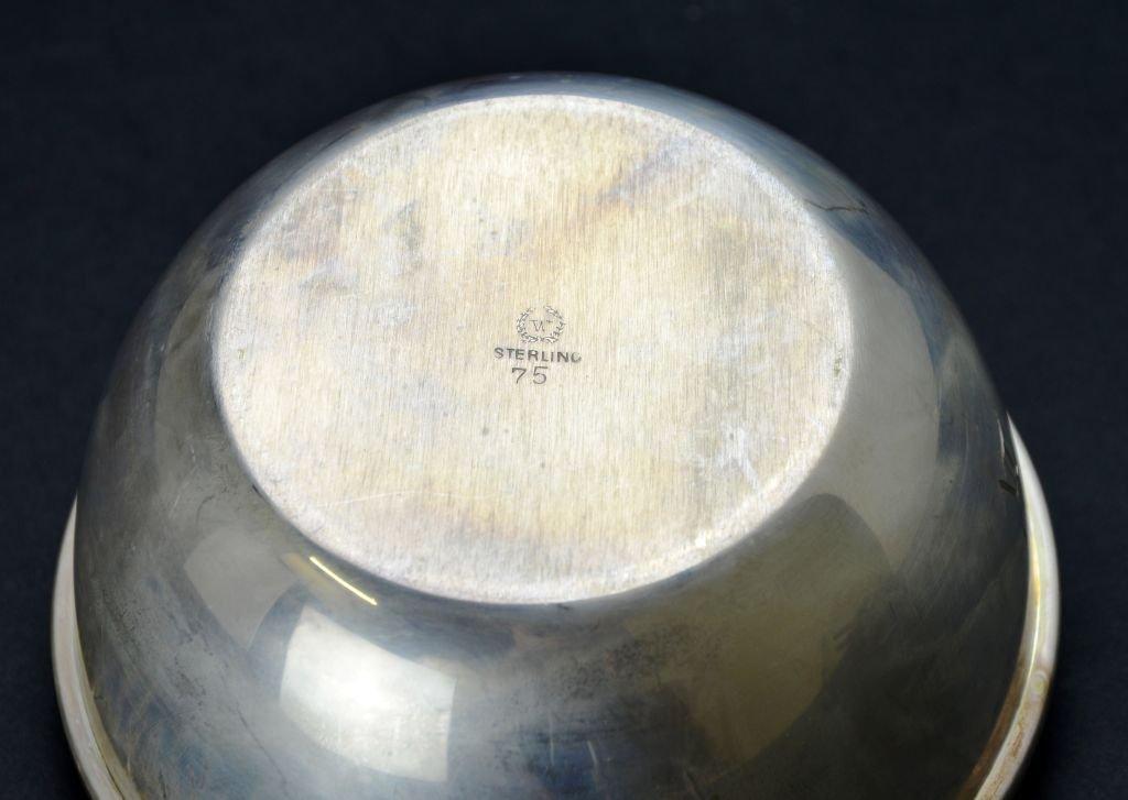 Set of 12 Vintage Sterling Silver Desert / Finger Bowls - 4