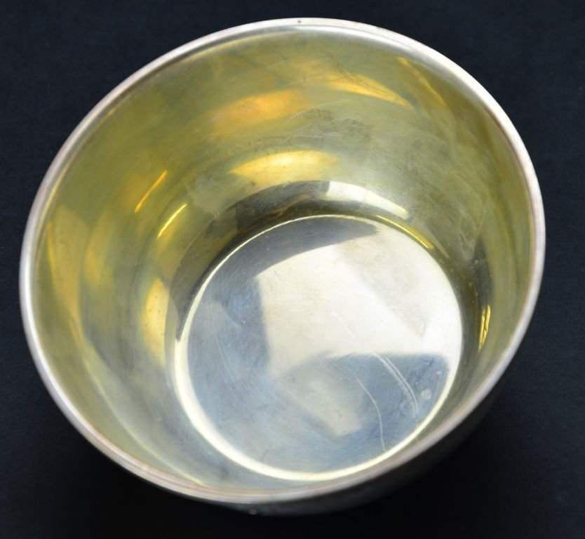 Set of 12 Vintage Sterling Silver Desert / Finger Bowls - 5