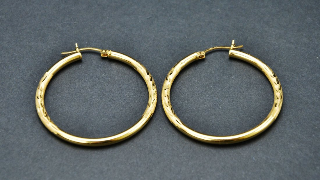 Lot of 10KT 14KT 18KT Gold Scrap or Repurpose Jewelry - 3
