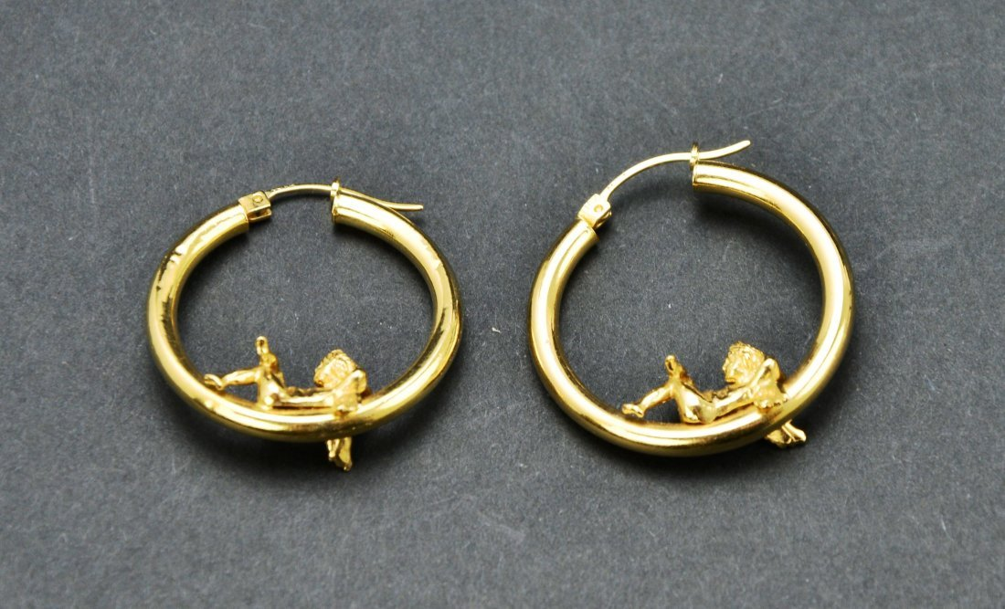 Lot of 10KT 14KT 18KT Gold Scrap or Repurpose Jewelry - 4