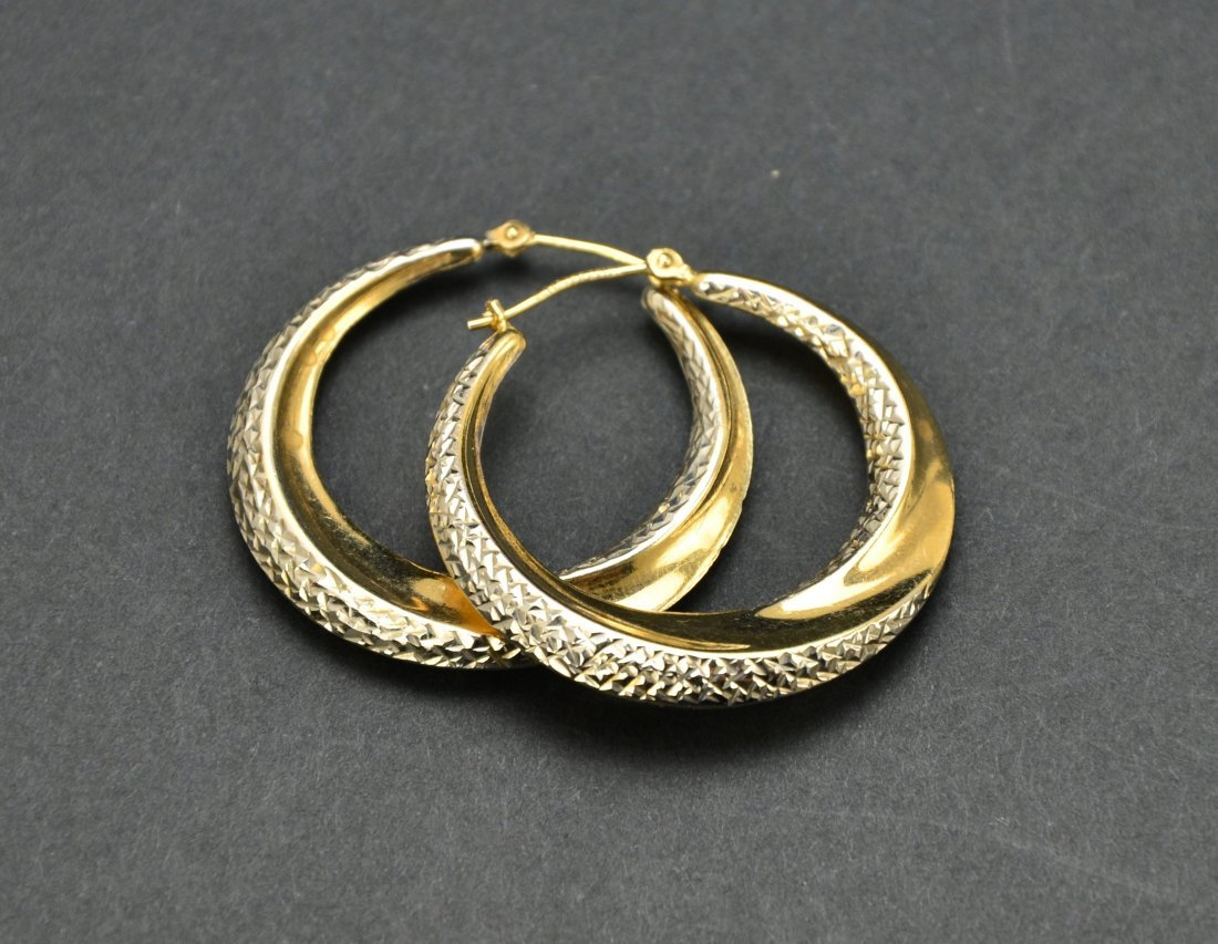 Lot of 10KT 14KT 18KT Gold Scrap or Repurpose Jewelry - 8