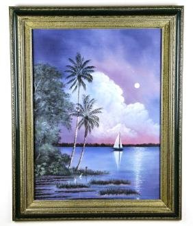 Oil on Canvas by, Ray McLendon Jr., Original Highwaymen