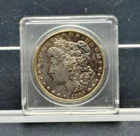 US 1890 CC Carson City Morgan Silver Dollar Coin