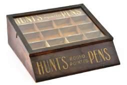 Howard Hunt Pens Counter Display Case Pen Advertising
