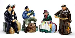 Collection of 4 Royal Doulton Figures