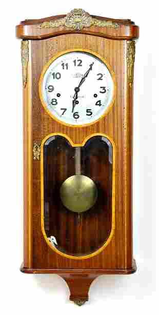 Art Deco Style Wall Clock by French Sarda Besanacon