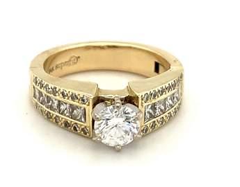 3/4 Carat Round Brilliant Diamond Ring