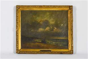 Jules Dupre Signed Oil on Canvas Barbizon School Period