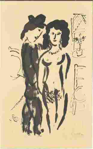 Marc Chagall Litho Pencil Signed & Numbered