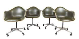 Herman Miller Eames Shell Bucket Arm Chairs