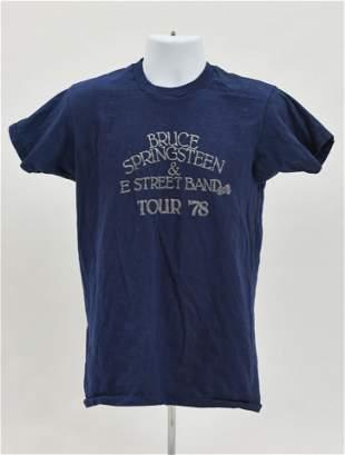 Original Vintage Bruce Springsteen Concert Tour T-Shirt