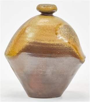 Jack Troy Studio Art Pottery Stoneware Vase