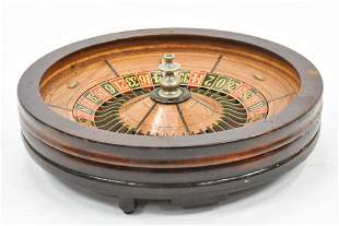 Antique Roulette and Carrying Case