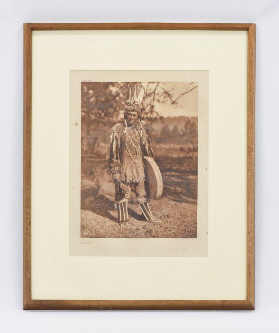 Original E.Curtis American Indian Photogravure Portrait