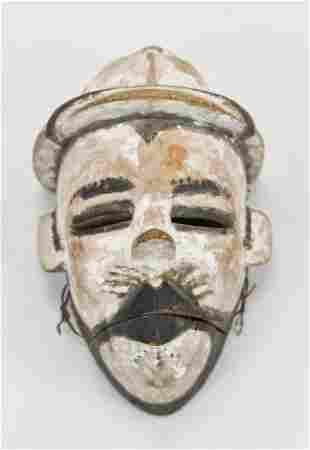 African Maiden Spirit Mask