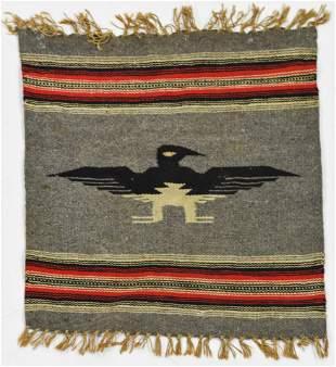 Chimayo Style Saddle Blanket