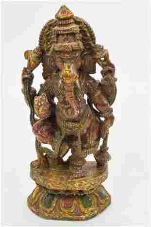 Indian Ganesha Statue