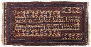 Turkmen Prayer Rug