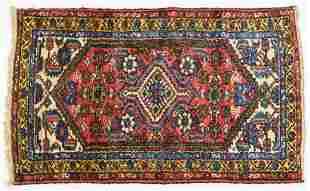 Nice Iranian Geometric Heriz Persian Oriental Rug