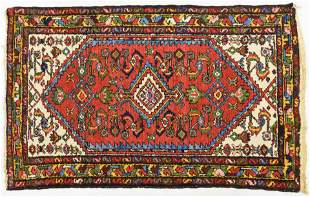 Fine Semi-Antique Persian Oriental Heriz Wool Rug