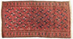 Semi-Antique Flat Weave Oriental Rug