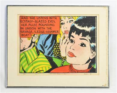 Logan, Ralph. COMIC STRIP MORALITY (E) 1970