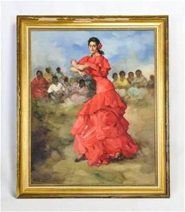 """Clement, Francisco Rodriguez Sanchez """"Flemenco Dancer"""""""