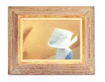 "Vickrey, Robert Remsen ""Nun #1"" Egg Tempera Board"