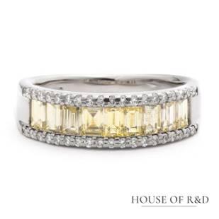 Platinum 900 - 1.20tcw - Diamonds Ring