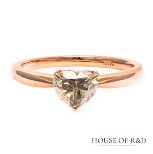 14k Rose  Gold - 1.00tcw -  Diamonds Ring