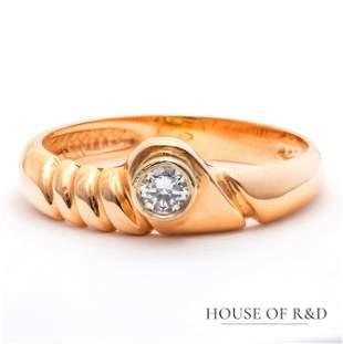 18k Rose Gold- 0.10tcw - Diamonds Ring