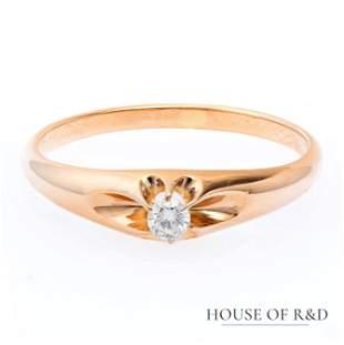 18k Rose Gold - 0.05tcw - Diamonds Ring