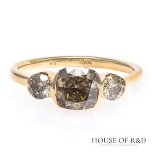 14k Yellow Gold - 1.86tcw - Diamonds Ring