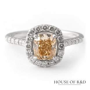 14k White Gold - 1.40tcw -  Diamonds Ring