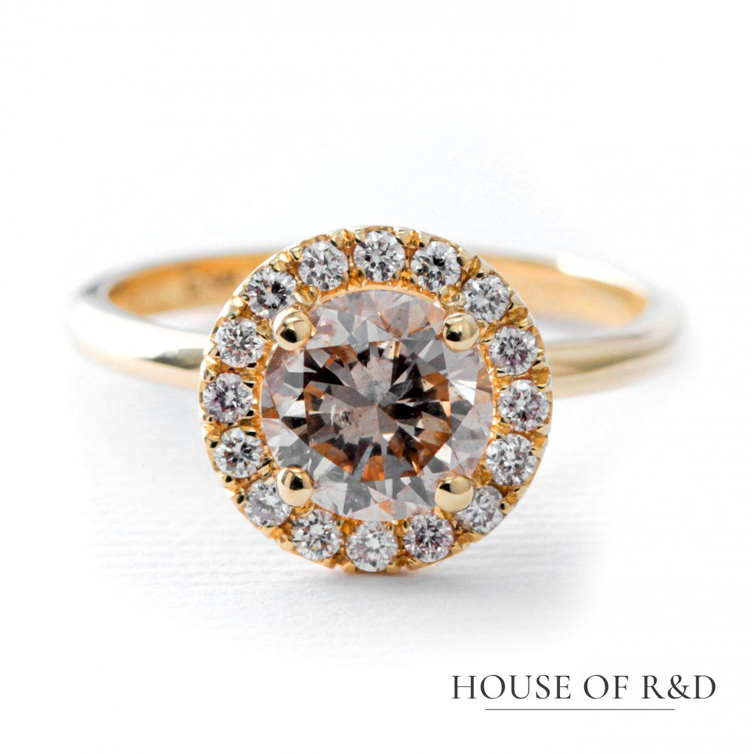 14k Yellow Gold - 1.73tcw -  Diamonds Ring