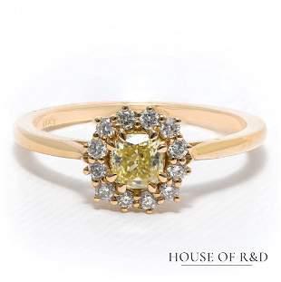 14k Rose Gold - 0..52tcw - Diamonds Ring