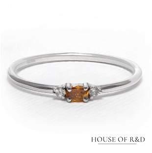 14k White Gold - 0.10tcw - Diamonds Ring