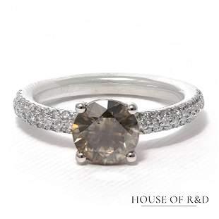 14k White Gold - 2.12tcw - Diamonds Ring
