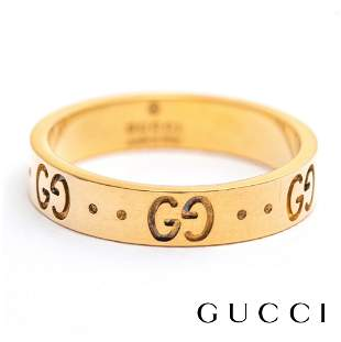 Gucci - 18k Yellow  Gold - Icon Ring