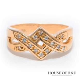 18k Yellow Gold - 1.61tcw - Ruby & Diamonds Ring