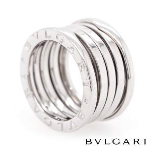Bvlgari - 18k White Gold - B-Zero1 Ring