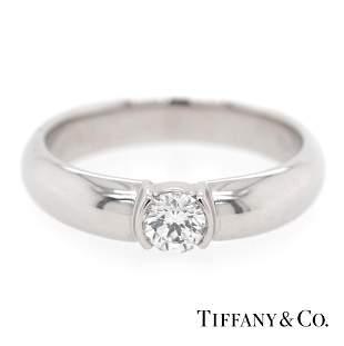 Tiffany & Co - Platinum 950 - Etoile Ring