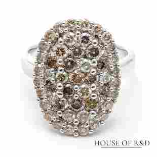 18k White Gold - 2.00tcw -  Diamonds Ring