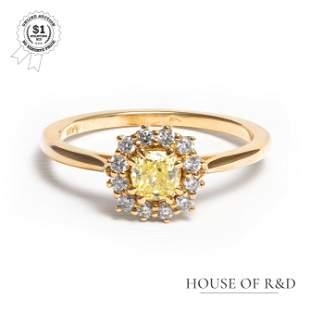 14k Rose Gold - 0.52tcw - Diamond Ring