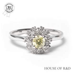 14k White Gold - 0.56tcw -  Diamond Ring